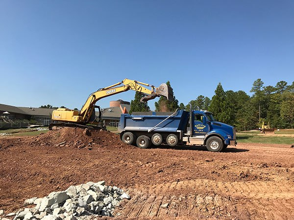 Main Site Construction Is NOW Underway